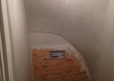 Toilet renovatie - alles getrokken