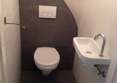 Toilet renovatie - bijna klaar