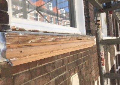 Houtrot vervangen - nieuw houtwerk