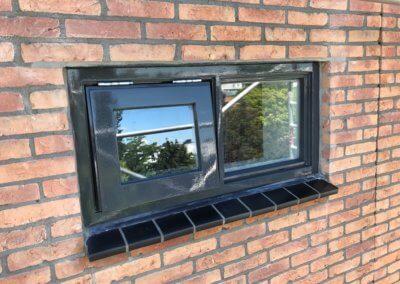 raam in gevel