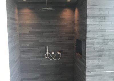 slaapkamer + badkamer renovatie - douche af