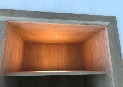 slaapkamer + badkamer renovatie - wastafel verlichting