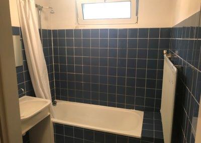 Toilet-badkamerrenovatie