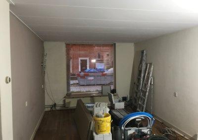 keuken renovatie voortgang