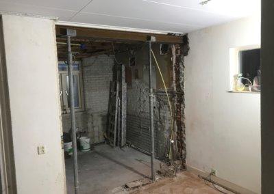keuken renovatie voortgang 5