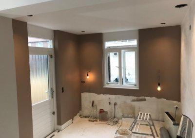 keuken renovatie voortgang 7